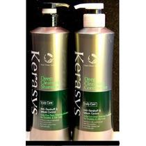 Kit Shampoo + Condi Kerasys Scalp Care Cabelos Oleosos 600ml
