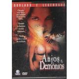Dvd Anjos E Demônios - Thriller Erótico, Raridade Lacrado#2