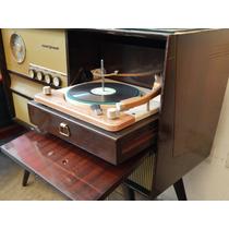 Tocadisco Combinado Antiguo Radio Valvulas General Electric