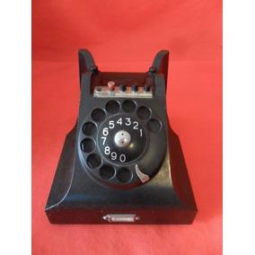 Antiguo Telefono Ericsson Baquelita Negro Vintage Decoracion