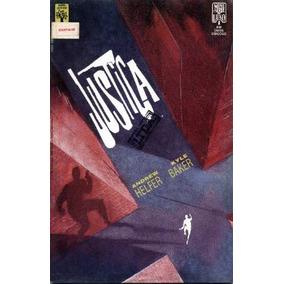 Hq - Justiça Ltda Série Luxo (as 2 Edições) Abr90 O Vingador