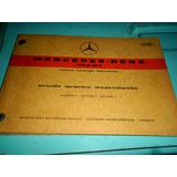 Catálogo De Peças Mercedes-benz Type M130 V 1971 1972