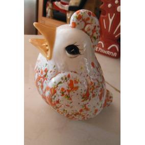 Precioso Salero Gallo Chiken Pajaro Oriental Retro Vintage
