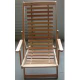 Cadeira Jardim Varanda, Sacadas 3 Posiço(eucalipito)