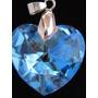 Namorados Pingente Coração Cristal Swarovski 2,0cm