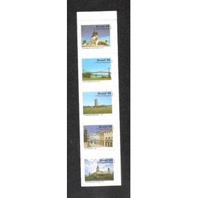 Turismo No Brasil Ii- Tira Vertical C/selos 724/728-nova