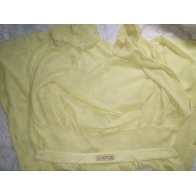 Camisa Crepe De Seda Greta Caue Tamanho 42