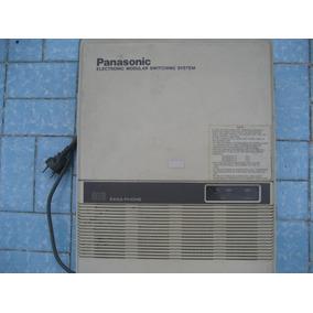 Panasonic Mod Kxt30810b 3linhas 8ramais + Barata Do M