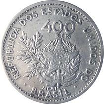 Raridade - Antiga Moeda De 400 Reis De 1901 P/ Colecionador