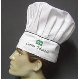 Chapeu Mestre Cuca Toque Blanch Gastronomia Chef Cozinheiro