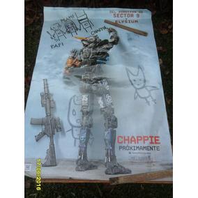 Afiche Cine Película Chappie (robots) (director D Sector 9)