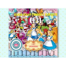 3 Kits Imprimible Cliparts Alicia En El Pais Maravillas