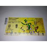Ingresso: Brasil Vs Uruguai- Arena Pernambuco Original Novo