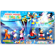 Miniaturas Turma Do Mickey 2 Cartelas - A Casa Do Mickey