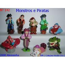 Kinder Ovo - Coleção Completa - Monstros E Piratas
