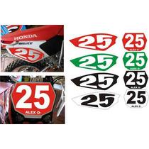 Kit Jogo Faixa Adesivo Honda Tornado Numeros Trilha