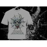 Camisa Demon Hunter True Defiance Metal Lançamento Show 2013