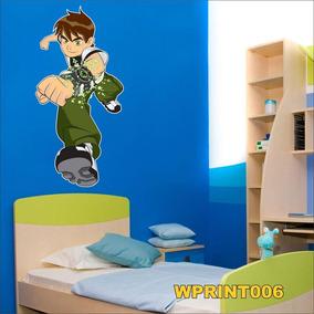 Adesivo Digital Infantil Ben 10 Wprint006 Quarto Menino