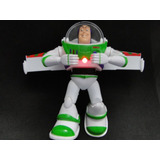 Boneco Gigante Fala Luz Som Buzz Toy Story 25cm Articulado