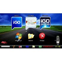 10 Programas Navegadores Gps Cartão 8gb Micro Sd Adaptador