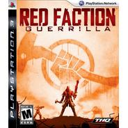 Red Faction Guerrilla Ps3 Novo Lacrado Original Mídia Física