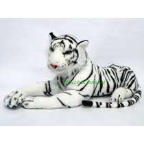 Tigre De Peluche Blanco