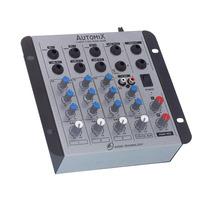 Mesa De Som Mixer Automix Ll Audio A402r 12 Volts 4 Canais