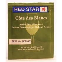 Levedura Redstar Pasteur Côte Desblancs Vinho Hidromel Yeast