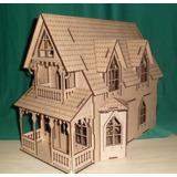 Casa Bonecas C11 Mdf P Polly Barbie Pocket Grátis Kit Móveis