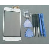 Touch Lg L5 Doble Chip E455 Blanco +kit +envío
