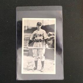 Tarjeta De Beisbol De Jose El Chile Gomez 1936 Muy Rara