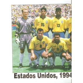 Poster Brasil Copa Do Mundo De 94 Um Time Tetra - Coleções e Comics ... 23fc75a3968b5