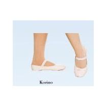 Sapatilha Em Korino P/ Ballet - Nº 34 Ao Nº 41