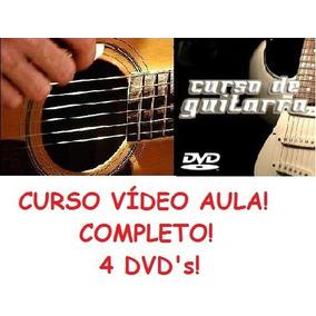 Aulas De Guitarra E Violão - 4 Dvds