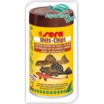 Ração Peixes De Fundo Cascudo Bótia Sera Wels Chips 15gr