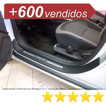 Soleiras Super Protetoras Chevrolet Onix