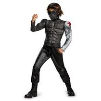 Disfraz Para Niño Disfraz Marvel Capitán América El Soldado