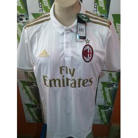 Jersey adidas Milan Italia Calcio 2017 Visita 100% Original