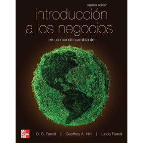 Libro: Introducción A Los Negocios En Un Mundo Cambiante Pdf
