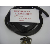 Opala / Caravan 75/79 Borracha Proteção Parachoque