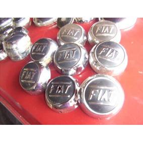 Calotas Antigas De Época Pequenas P/ Caminhão Fiat Raridade
