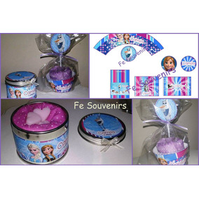 Cupcakes Toalla Souvenirs Cumples-spa Nenas-lali-luna-franky