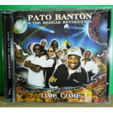 Pato Banton Cd Reggae Revolution Time Come Life Is A Miracle