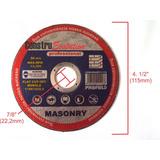 Disco Fino P Cortar Alvenaria 115mm P Esmeriladera Lixadeira