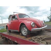 Fusca Chassis 1967 Com Documento 2016 / Motor Travado