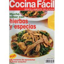 Cocina Fácil - Mucho Sabor Con Hierbas Y Especias