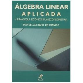 Livro- Álgebra Linear Aplicada - Manuel Alcino R. Da Fonseca