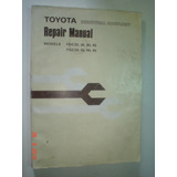 Manual Serviço Empilhadeira Toyota Fdc Fgc 33 35 40 45 Trato