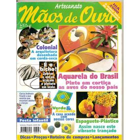 Revista Mãos De Ouro Artesanato - Festa Infantil/ Aquarela..
