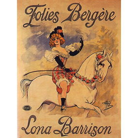 Cavalo Animal Mulher Flores Poster Repro